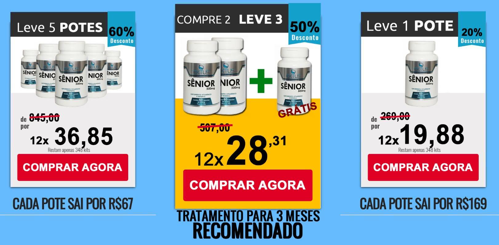 Estimulante Sênior farmácia