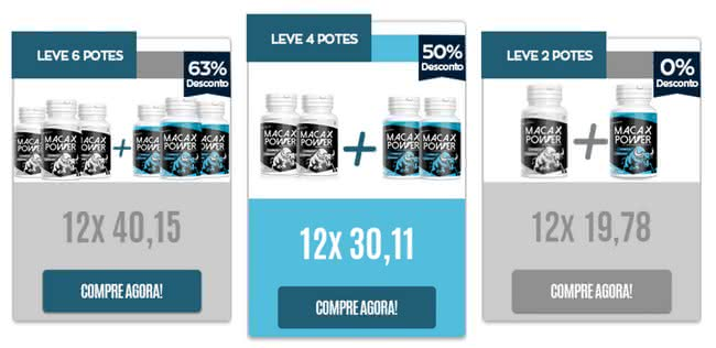Maca X Power farmácia
