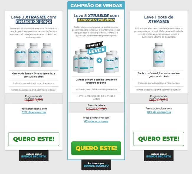 Xtrasize farmácia