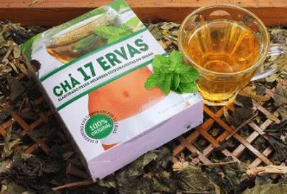 Chá 17 ervas Preço